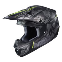 HJC CS-MX II Sapir Yellow Moto-X Helmet (Grey|Yellow)