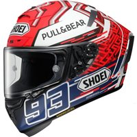 Shoei X-Spirit 3 Marquez 5 TC1 Helmet (Red|White)