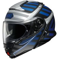 Shoei Neotec 2 Flip Front Helmet Splicer TC2 (Blue|Grey)