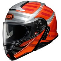 Shoei Neotec 2 Flip Front Helmet Splicer TC8 (Orange)