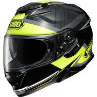 Shoei GT Air 2 Affair TC3 Motorcycle Helmet (Matt Black|Yellow)