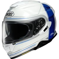 Shoei GT Air 2 Crossbar TC2 Motorcycle Helmet (White|Blue)