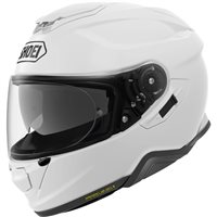 Shoei GT Air 2 Plain White Motorcycle Helmets