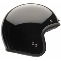 Bell Custom 500 Deluxe Open Face Helmet (Gloss Black)