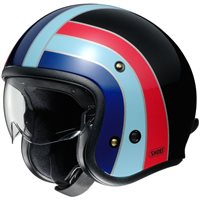 Shoei J.O Open Faced Helmet (Nostalgia TC10)