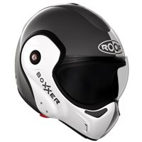 Roof Boxxer 9 Face Flip Front Helmet (Metal|Pearl White)