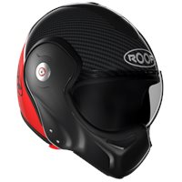 Roof Boxxer Carbon Flip Front Helmet (Red)