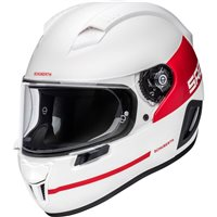 Schuberth SR2 Horizon Motorcycle Helmet (White/Red)