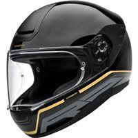 Schuberth R2 Carbon Stroke Gold Helmet (Black|Gold)