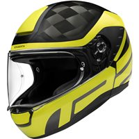 Schuberth R2 Carbon Cubature Yellow Helmet (Black|Yellow)