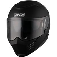 Simpson Venom Motorcycle Helmet (Matt Black)