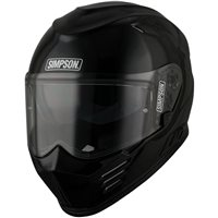 Simpson Venom Motorcycle Helmet (Gloss Black)
