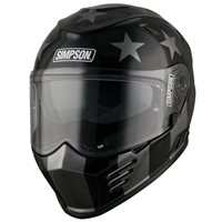 Simpson Venom Subdued Motorcycle Helmet