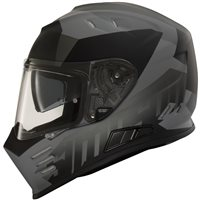 Simpson Venom Army Motorcycle Helmet (Black|Grey)