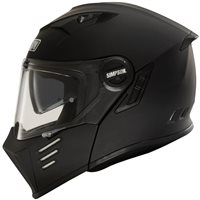 Simpson Darksome Flip Front Motorcycle Helmet (Matt Black)