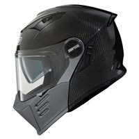Simpson Darksome Flip Front Motorcycle Helmet (Carbon)