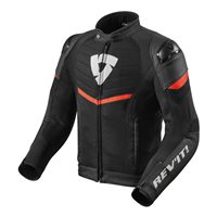 Revit Mantis Textile Jacket (Black|Red)