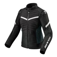Revit Ladies Motorcycle Jacket Arc H2O (Black|White)