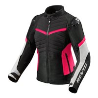 Revit Ladies Motorcycle Jacket Arc H2O (Black|Fuchsia)