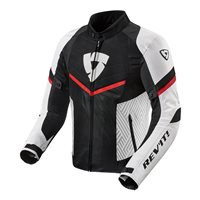 Revit Arc Air Textile Jacket (White|Red)