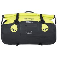 Oxford AQUA T30 All Weather Roll Bag (Black|Fluo Yellow)