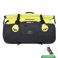 Oxford AQUA T50 All Weather Roll Bag (Black|Yellow)