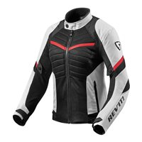 Revit Ladies Motorcycle Jacket Arc Air (White|Red)
