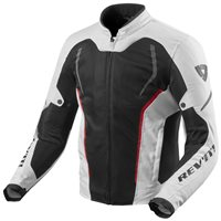 Revit Motorcycle Jacket GT-R Air 2 (White|Black)