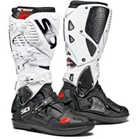 Sidi Crossfire 3 SRS Motocross Boots (Black|White)