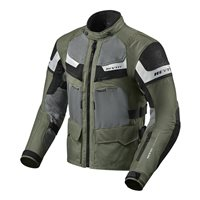 Revit Cayenne Pro Textile Motorcycle Jacket (Green/Black)