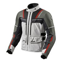Revit  Motorcycle Jacket Offtrack (Silver/Red)