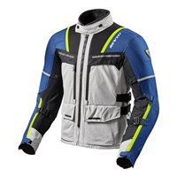 Revit  Motorcycle Jacket Offtrack (Silver/Blue)