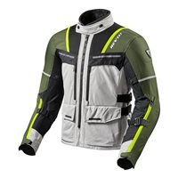 Revit  Motorcycle Jacket Offtrack (Silver/Green)