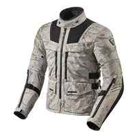 Revit  Motorcycle Jacket Offtrack (Sand/Black)
