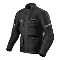 Revit Motorcycle Jacket Outback 3 (Black/Silver)