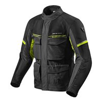 Revit Motorcycle Jacket Outback 3 (Black/Neon Yellow)