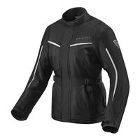 Revit Voltiac 2 Ladies Motorcycle Jacket (Black/Silver)
