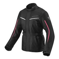 Revit Voltiac 2 Ladies Motorcycle Jacket (Black/Fuchsia)