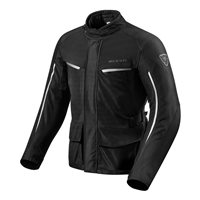 Revit Motorcycle Jacket Voltiac 2 (Black/Silver)