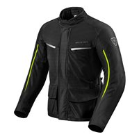 Revit Motorcycle Jacket Voltiac 2 (Black/Neon Yellow)