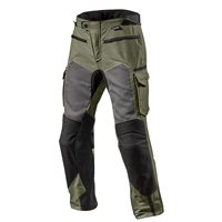 Revit Cayenne Pro Motorcycle Trousers (Green/Black)