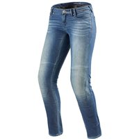 Revit Cordura Denim Jeans Westwood Ladies Slim Fit (Light Blue)