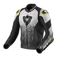 Revit Leather Jacket Quantum Air (Black/White)