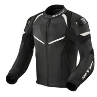 Revit Leather Jacket Convex (Black/White)