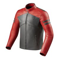 Revit Leather Jacket Prometheus (Red/Grey)
