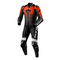 Revit One Piece Leathers Quantum (Black|Neon Red)