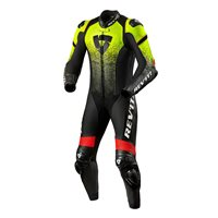 Revit One Piece Leathers Quantum (Black|Neon Yellow)