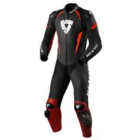 Revit One Piece Leathers Triton (Black|Neon Red)