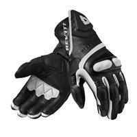 Revit Metis Motorcycle Gloves (Black/White)