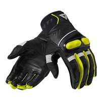Revit Hyperion Motorcycle Gloves (Black|Neon Yellow)